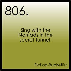 Secret secret secret tunnel! haha! you're awesome if you know this reference...and still awesome if you don't :)