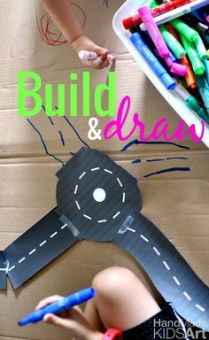 STEAM Activity, build and draw.