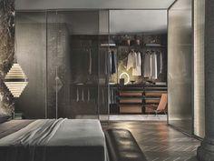 Venta y montaje de vestidores de la marca Rimadesio, expertos en mobiliario de diseño. Vestidores de diseño y muebles de diseño moderno para interiorismo.