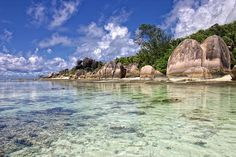 Need to go here before I die! :) Seychelles are an archipelago of 115 islands off the east coast of Africa.