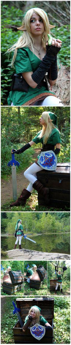 Lady Link from The Legend of Zelda #Genderbender #Crossplay