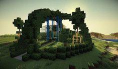 Hà Minecraft – Vanessa Rossek - Minecraft World Minecraft Park, Minecraft Stables, Minecraft Treehouses, Minecraft Kingdom, Minecraft Garden, Creeper Minecraft, Minecraft Skins, Minecraft House Designs, Cool Minecraft Houses