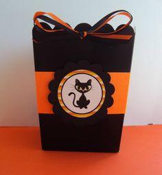 Halloween Party Favor Box, Halloween Treat Box ,