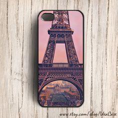 PARIS Eiffel Tower Pink iphone 5 case iphone 4s case by IdeaCase, $16.00