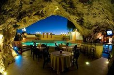 Restaurant in a cave, Pergola Club Hotel & Spa, Malta. Source: http://www.nethotels.com/hotel/248732/pergola-club-hotel-spa.en.aspx