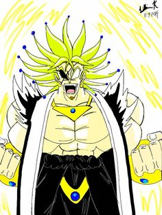(anime) dragon ball multiverse: broly/kenpachi fusion