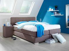Boxspring Halmstad: voor een luxe uitstraling van je slaapkamer #moderne #meubels Sleep, Bed, Furniture, Home Decor, Decoration Home, Stream Bed, Room Decor, Home Furnishings, Beds