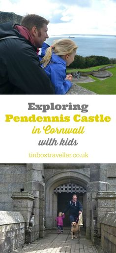 A visit to Pendennis Castle with kids. This family and dog-friendly fortification in Cornwall is looked after by English Heritage and makes a great day out #EnglishHeritage #Cornwall #England #UKtravel #castle #familydayout #familytravel #EnglishHeritage #dogfriendly #history #Falmouth