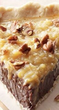 Coconut Pecan Chocolate Pie                                                                                                                                                                                 More