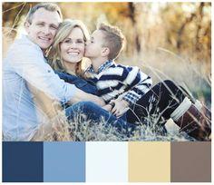 www.jamiesoloriophotography.com Color Scheme for Family Portraits Guide
