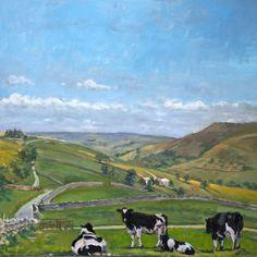 Near Castle Bolton ~ by...Brian Alderman.