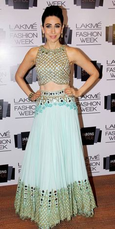 Karisma Kapoor - love the dress, drooling....