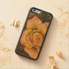 Paramore Rose Carved Cherry iPhone 6 Bumper Case - diy cyo customize create your own personalize