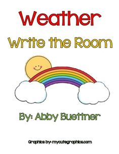 write around the room activities for infants