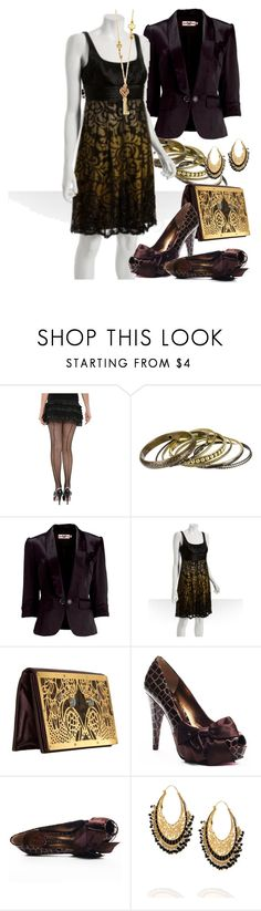 """Byzantine evening"" by ketutar ❤ liked on Polyvore featuring Charlotte Russe, Miss Real, Carmen Marc Valvo, Raven Kauffman, Paris Hilton, Isharya, House of Harlow 1960, goblet shape and body shape"