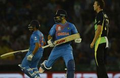 #Virat Kohli's heroic take India to #semifinal