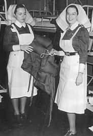 Two Canadian Nursing Sisters from WW 2..