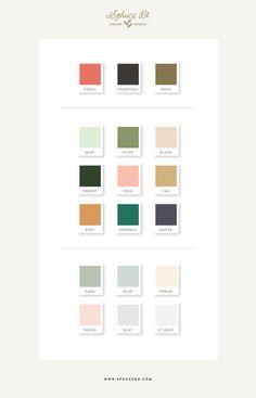 Spruce Rd. Color Palette | #color #inspiration