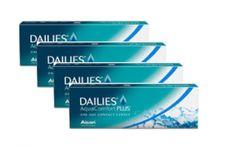 4 x DAILIES AquaComfort Plus™ 30 stk.