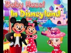 Baby hazel in Disneyland: New game for kid - Full Gameplay Episodes HD