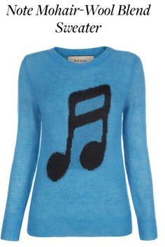 Music note sweater