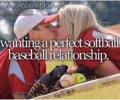 Baseball And Softball Couples Quotes. QuotesGram