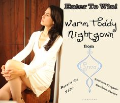 Day 11 of TFHW Christmas Giveaway! Enter to win sleepwear from Snoa! Perfect for those cold winter nights!