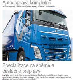 Autodoprava Pavel Kostrbel s.r.o. – Sbírky – Google+ Trucks, Vehicles, Google, Italy, Truck, Cars, Vehicle