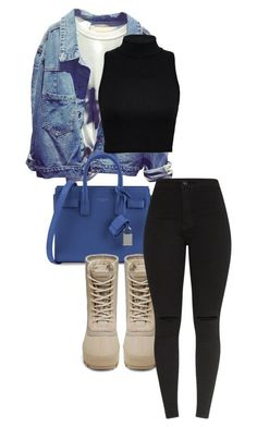 """Untitled #662"" by sadgirllmaya ❤ liked on Polyvore featuring Yves Saint Laurent and adidas Originals"