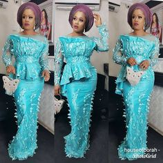 African Lace Styles, African Lace Dresses, Latest African Fashion Dresses, Nigerian Fashion, African Clothes, African Style, Ankara Styles, African American Fashion, African Inspired Fashion