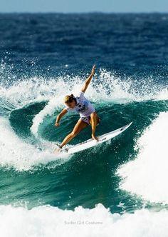 SURFER GIRL Quilt Pattern Beach Surf Board Surfing Needle Turn Hand Applique DIY