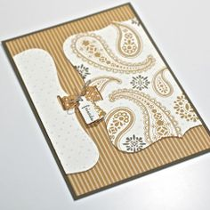 flebbeart - love this card with the textures and die cut shapes