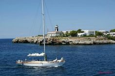 Faros de Menorca. Sa Farola. Ciutadella de Menorca