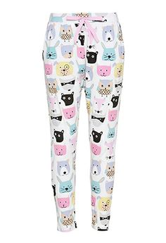 Image for Animal Faces Pant from Peter Alexander