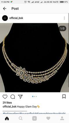 Diamond Necklace Set, Diamond Brooch, Diamond Pendant, Diamond Jewelry, Gold Jewelry, Jewelery, Jewelry Necklaces, Princess Jewelry, Small Necklace