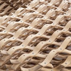 The #LatticeChair was #created by #designer #MyungChulKim, student at the…