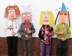 Has zaitez irudimenarekin jolasean. ideas for kids Lessons For Kids, Projects For Kids, Diy For Kids, Art Projects, Crafts For Kids, Kids Workshop, Workshop Ideas, Kindergarten Art Lessons, Puppet Crafts