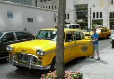 """This old taxi was in """"Punchline"""", """"When Harry Met Sally"""", """"Ghostbusters II"""", """"Home Alone II"""" """"Carlito's Way"""", """"54"""", """"The Last Days of Disco"""", """"Private Parts"""", """"Catch Me If You Can"""", """"Down With Love"""" and """"Almost Famous"""". http://www.filmcars.com/car1.htm#photo"""