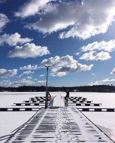 http://www.langvik.fi/    #talvi #winter #clouds #pinghelsinki #långvik #langvik #langvikhotel #thankgoditslångweekend