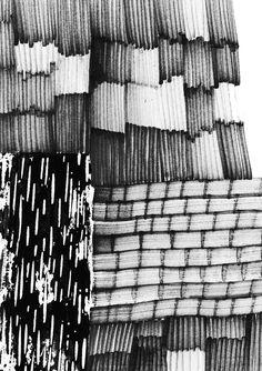 drawings Surface Textile Designer - Eva Bellanger eva.bellanger.portfoliobox.fr Motifs Textiles, Textile Prints, Textile Design, Monochrome Pattern, Black White Pattern, Black And White, Textures Patterns, Print Patterns, Art Sketchbook