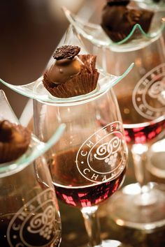 Port and Chocolate make for a relaxing evening.