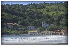 A linda e bela praia de Garopaba   Foto: Ari Almeida