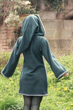 Legend of zelda inspired cosplay Green Elven tunic by tatoke