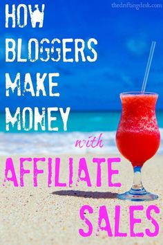 Interested to learn how bloggers make money with affiliate sales? I was, but now I'm making money from affiliate sales, too. Check out how I do it and what affiliates I partner with to make the most money blogging.