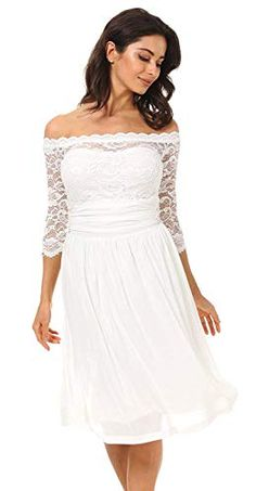 Are you searching for a cute mother of the bride dress? You should take a look at this Plus Size Floral Lace Off-Shoulder Cocktail Party Tube Dress. Midi Cocktail Dress, Womens Cocktail Dresses, White Wedding Dresses, Wedding Party Dresses, Cute Dresses, Formal Dresses, Bride Dresses, Mother Of The Bride Gown, Tube Dress