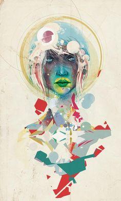 Broken - Light  Amazing illustration by Thiago Souto, a designer and illustrator from São Paulo, Brasil.