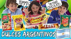 DULCES ARGENTINOS!! En el vídeo de hoy los #thecrazyhaacks prueban los dulces que nos mandaron nuestro primos de Argentina muchísimas gracias! Fueron un montón y casi salimos rodando que empacho jajaja! Ya nos diréis qué os ha parecido argentinos! Vosotros coméis estos dulces? Podéis verlo YA en nuestro canal de #YouTube #thecrazyhaacks  #dulces#argentina #dulcesargentinos #probandodulces #youtube #youtubers #kids #dessert #food #desserts #yum #yummy #amazing #instagood #instafood #sweet…