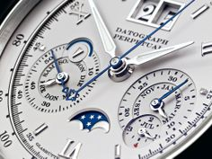Luxury Watches: A. Lange & Sohne Datagrapgh