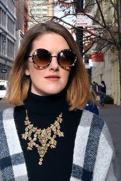 NYC Apartment Lazy Girl, Girls Wardrobe, Round Sunglasses, Nyc, Outfits, Fashion, Moda, Suits, Round Frame Sunglasses