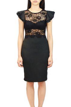 Lace 3/4 Length Dress  oakandstate.com